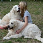 Cassidy 6 ans ( à gauche ), avec Nathéo