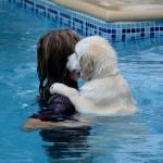 Apprentissage de la nage pour Piper 3 mois
