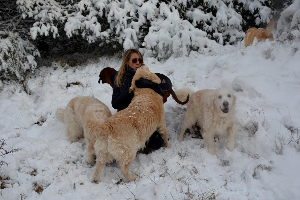 Jess balade neige , elios 8 ans 1