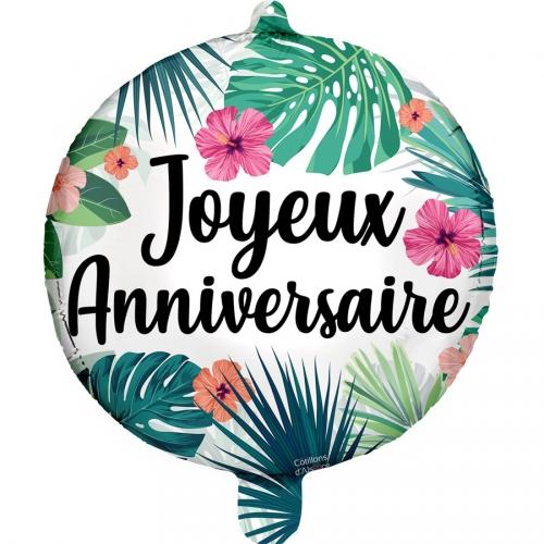 joyeux anniversaire tropical